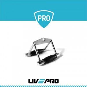 Επαγγελματική Τριγωνική λαβή προπόνησης πλάτης Live Pro 8192G